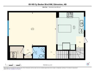 Photo 28: 85 165 CY BECKER Boulevard in Edmonton: Zone 03 Townhouse for sale : MLS®# E4150369