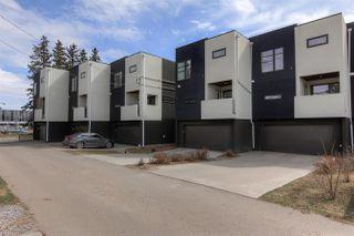 Photo 29: 10176 143 Street in Edmonton: Zone 21 Townhouse for sale : MLS®# E4153497