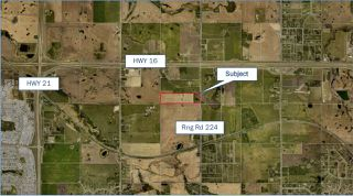 Main Photo: 53142 RGE RD 224: Rural Strathcona County Rural Land/Vacant Lot for sale : MLS®# E4154612