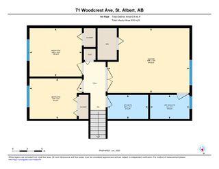 Photo 47: 71 WOODCREST Avenue: St. Albert House for sale : MLS®# E4185751