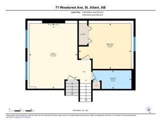 Photo 48: 71 WOODCREST Avenue: St. Albert House for sale : MLS®# E4185751