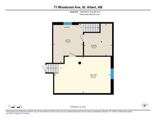 Photo 49: 71 WOODCREST Avenue: St. Albert House for sale : MLS®# E4185751