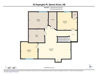 Photo 35: 36 ASPENGLEN Place: Spruce Grove House for sale : MLS®# E4196373