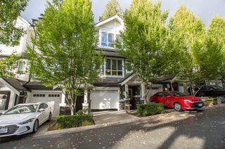 "Photo 1: 136 1460 SOUTHVIEW Street in Coquitlam: Burke Mountain Townhouse for sale in ""Cedar Creek"" : MLS®# R2509043"