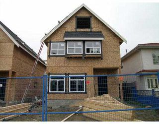 Main Photo: 1785 VICTORIA DR in Vancouver: Grandview VE House 1/2 Duplex for sale (Vancouver East)  : MLS®# V560797