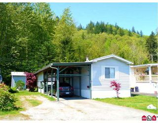 Photo 1: 15 10221 WILSON Road in Mission: Stave Falls House for sale : MLS®# F2910089