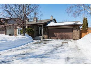 Photo 1: 76 Trowbridge Bay in WINNIPEG: St Vital Residential for sale (South East Winnipeg)  : MLS®# 1405516