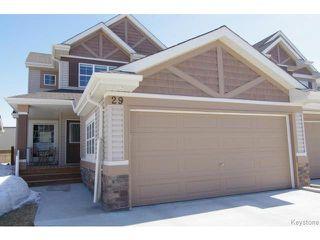 Photo 1: 29 Tommy Douglas Drive in WINNIPEG: Transcona Condominium for sale (North East Winnipeg)  : MLS®# 1407310