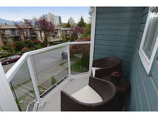Photo 16: 1289 WOLFE Avenue in Vancouver: Fairview VW Townhouse for sale (Vancouver West)  : MLS®# V1059138