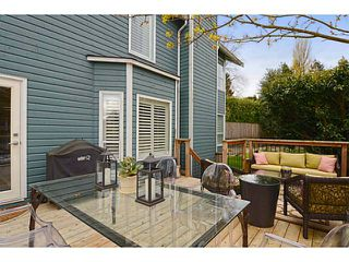 Photo 14: 1289 WOLFE Avenue in Vancouver: Fairview VW Townhouse for sale (Vancouver West)  : MLS®# V1059138