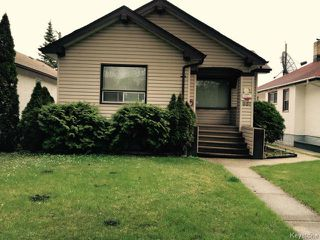 Photo 1: 991 Dominion Street in WINNIPEG: West End / Wolseley Residential for sale (West Winnipeg)  : MLS®# 1512104