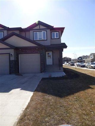 Photo 1: 13063 165 Avenue in Edmonton: Zone 27 House Half Duplex for sale : MLS®# E4148117