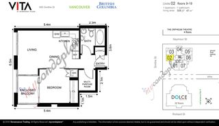"""Photo 19: 1502 565 SMITHE Street in Vancouver: Downtown VW Condo for sale in """"Vita"""" (Vancouver West)  : MLS®# R2435057"""