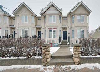Photo 1: 9519 98 Avenue in Edmonton: Zone 18 Townhouse for sale : MLS®# E4215818