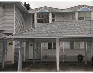 "Photo 1: 5 1406 BRUNETTE AV in Coquitlam: Maillardville Townhouse for sale in ""PLACE D'HERITAGE"" : MLS®# V582461"