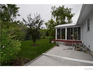 Photo 16: 100 SPATUCK Road in East St Paul: Birdshill Area Residential for sale (North East Winnipeg)  : MLS®# 1616950