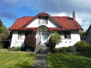 Main Photo: 1069 W 26TH AVENUE in : Shaughnessy House for sale : MLS®# V1087607