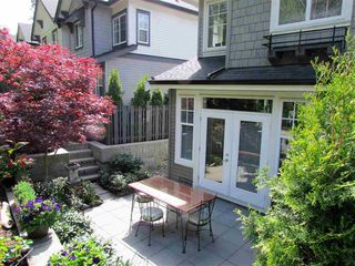 Photo 2: 10 3470 Highland Drive in Coquitlam: Burke Mountain Townhouse for sale : MLS®# R2164105