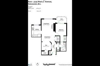 Photo 19: 410 3235 W 4TH Avenue in Vancouver: Kitsilano Condo for sale (Vancouver West)  : MLS®# R2331867