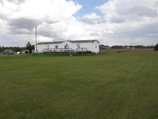Main Photo: 42-23422 Twp Rd 582 Road: Rural Sturgeon County Manufactured Home for sale : MLS®# E4143489