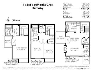 """Photo 19: 1 6588 SOUTHOAKS Crescent in Burnaby: Highgate Townhouse for sale in """"TUDOE GROVE"""" (Burnaby South)  : MLS®# R2343498"""