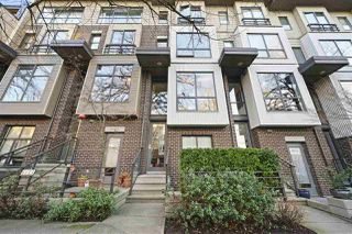 """Main Photo: 3689 COMMERCIAL Street in Vancouver: Victoria VE Townhouse for sale in """"Brix II"""" (Vancouver East)  : MLS®# R2352706"""