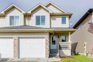 Photo 1: 15710 95 Street in Edmonton: Zone 28 House Half Duplex for sale : MLS®# E4155095