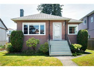 Photo 1: 2714 3RD Ave E in Vancouver East: Renfrew VE Home for sale ()  : MLS®# V1127562