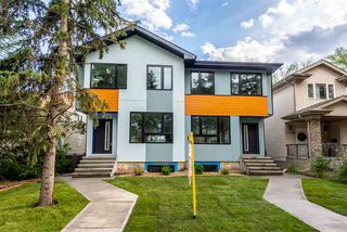 Main Photo: 11157 77 Avenue in Edmonton: Zone 15 House Half Duplex for sale : MLS®# E4161485