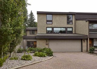 Photo 1: 94 WILLOW Way in Edmonton: Zone 22 Townhouse for sale : MLS®# E4168663