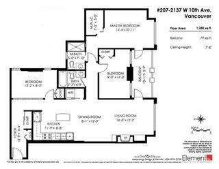 "Photo 4: 207 2137 W 10TH Avenue in Vancouver: Kitsilano Condo for sale in ""THE ""I"" BUILDING"" (Vancouver West)  : MLS®# R2401655"