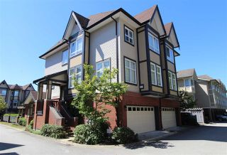Photo 1: 29 6099 ALDER STREET in Richmond: McLennan North Townhouse for sale : MLS®# R2483685