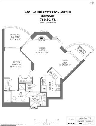 """Photo 36: 401 6188 PATTERSON Avenue in Burnaby: Metrotown Condo for sale in """"WIMBLEDON CLUB"""" (Burnaby South)  : MLS®# R2511892"""