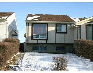 Main Photo:  in CALGARY: Falconridge Residential Attached for sale (Calgary)  : MLS®# C3193848