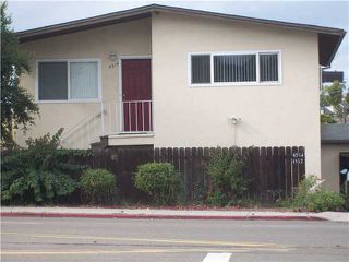 Photo 1: COLLEGE GROVE Home for sale or rent : 2 bedrooms : 4512 COLLEGE in San Diego