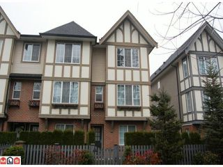 Photo 1: 50 20875 80th Avenue in Langley: Willoughby Heights Townhouse for sale : MLS®# F1220454