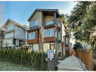 "Photo 1: 1810 E PENDER Street in Vancouver: Hastings Townhouse for sale in ""AZALEA HOMES"" (Vancouver East)  : MLS®# V1051694"
