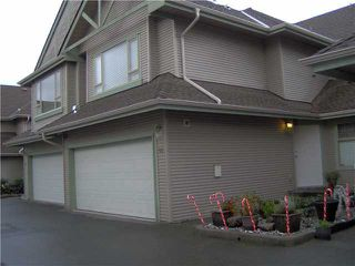 """Main Photo: 50 1255 RIVERSIDE Drive in Port Coquitlam: Riverwood Townhouse for sale in """"RIVERWOOD GREEN"""" : MLS®# V1059650"""