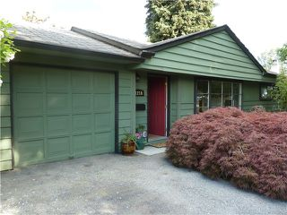 Photo 1: 1218 ROSEWOOD Crescent in North Vancouver: Norgate House for sale : MLS®# V1066452