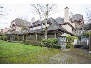 """Photo 1: 35 3960 CANADA Way in Burnaby: Burnaby Hospital Townhouse for sale in """"CASCADE VILLAGE"""" (Burnaby South)  : MLS®# V1112623"""