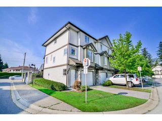 "Photo 1: 1 14855 100 Avenue in Surrey: Guildford Townhouse for sale in ""HAMSTEAD MEWS"" (North Surrey)  : MLS®# F1449061"