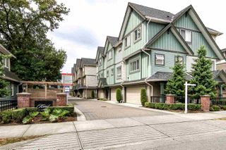 "Photo 1: 6 7393 TURNILL Street in Richmond: McLennan North Townhouse for sale in ""Karat"" : MLS®# R2098805"