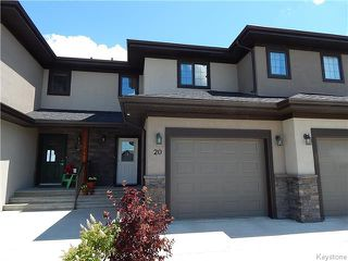 Photo 1: 20 Landsbury Terrace in Niverville: Fifth Avenue Estates Residential for sale (R07)  : MLS®# 1718242