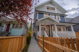 Photo 1: 1232 E 11TH Avenue in Vancouver: Mount Pleasant VE House 1/2 Duplex for sale (Vancouver East)  : MLS®# R2246645