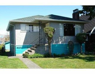 Main Photo: 3121 E 29TH AVENUE in Vancouver: Renfrew Heights House for sale (Vancouver East)  : MLS®# R2255357