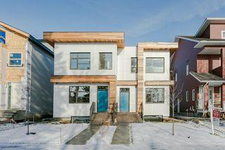 Main Photo: 11324 78 Avenue NW in Edmonton: Zone 15 House Half Duplex for sale : MLS®# E4135879