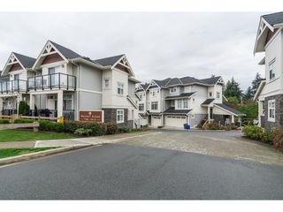 "Photo 1: 12 7198 179 Street in Surrey: Cloverdale BC Townhouse for sale in ""WALNUT RIDGE"" (Cloverdale)  : MLS®# R2352864"