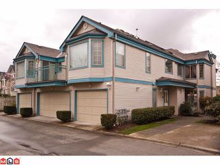 "Photo 1: 24 15840 84TH Avenue in Surrey: Fleetwood Tynehead Townhouse for sale in ""Fleetwood Gables"" : MLS®# F1110783"