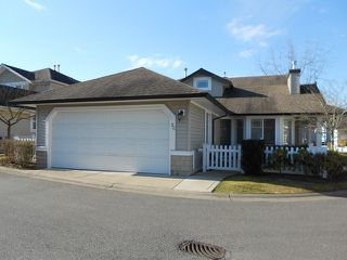 "Photo 1: 20 6488 168TH Street in Surrey: Cloverdale BC Townhouse for sale in ""TURNBERRY"" (Cloverdale)  : MLS®# F1403317"