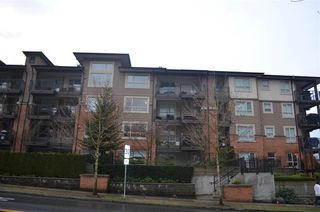 "Photo 1: 207 700 KLAHANIE Drive in Port Moody: Port Moody Centre Condo for sale in ""Boarwalk"" : MLS®# R2021637"